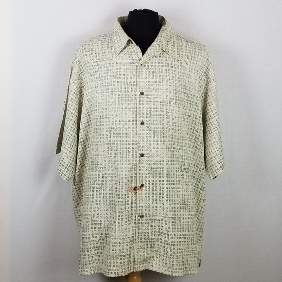 Pendleton Other - Vintage Pendleton S/S Button Down Shirt Silk XXL
